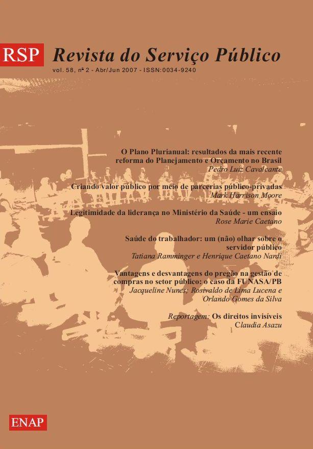 Visualizar v. 58 n. 2 (2007)