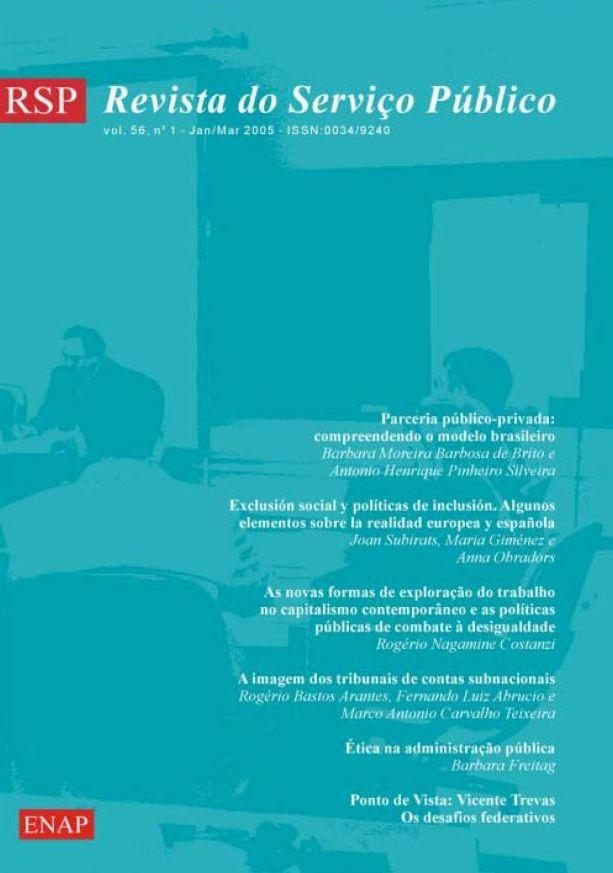 Visualizar v. 56 n. 1 (2005)