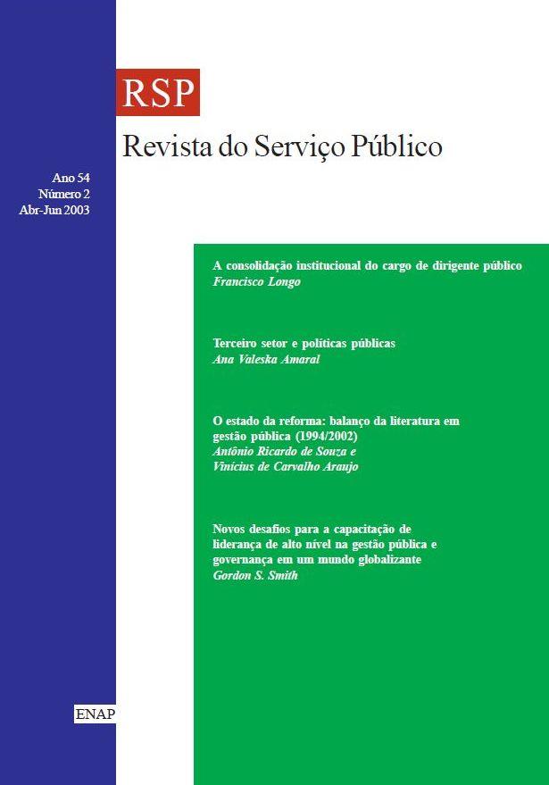 Visualizar v. 54 n. 2 (2003)