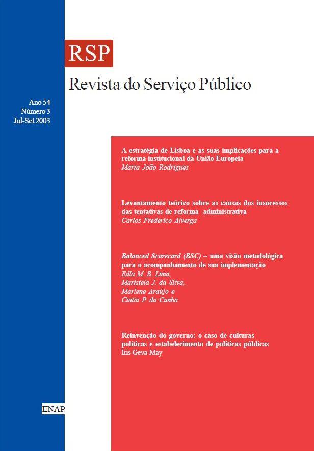 Visualizar v. 54 n. 3 (2003)