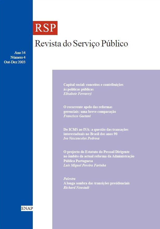 Visualizar v. 54 n. 4 (2003)