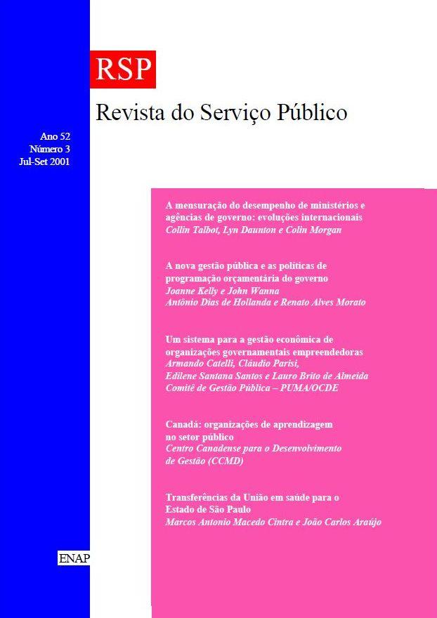 Visualizar v. 52 n. 3 (2001)