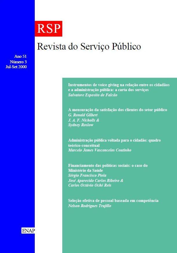 Visualizar v. 51 n. 3 (2000)