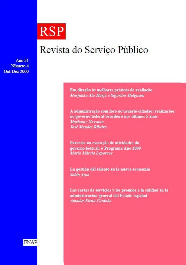 Visualizar v. 51 n. 4 (2000)
