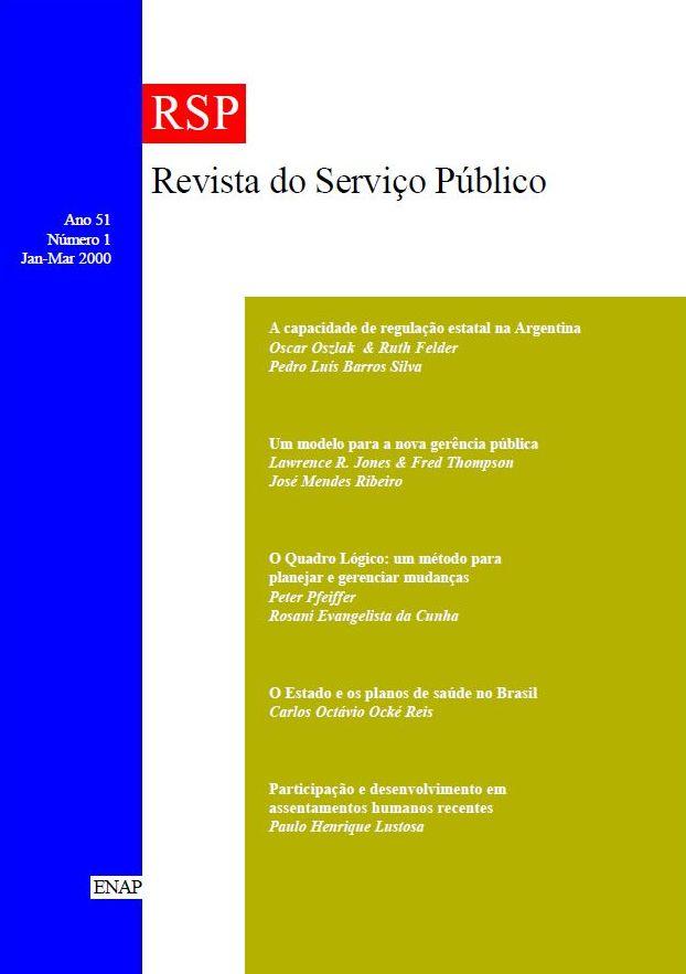 Visualizar v. 51 n. 1 (2000)